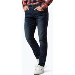 G-Star - Jeansy męskie – 3301, niebieski. Niebieskie jeansy męskie z dziurami marki G-Star. Za 499,95 zł.