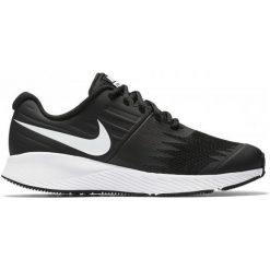 Nike Buty Do Biegania Boys' Star Runner (Gs) Running Shoe Black 35.5. Niebieskie buciki niemowlęce chłopięce marki Born2be, z materiału, z okrągłym noskiem, na obcasie. W wyprzedaży za 179,00 zł.