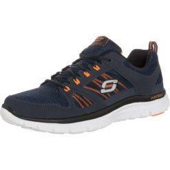 Tenisówki męskie: Skechers Sport FLEX ADVANTAGE Tenisówki i Trampki navy/orange