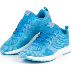 DAMSKIE OBUWIE DO BIEGANIA - odcienie niebieskiego. Niebieskie buty do biegania damskie AX BOXING. Za 59,90 zł.