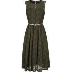 Voodoo Vixen Sophia Vintage Sukienka zielony. Zielone sukienki koronkowe Voodoo Vixen, m, w koronkowe wzory, vintage, z dekoltem na plecach. Za 324,90 zł.