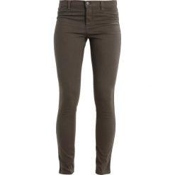 Sisley Jeansy Slim Fit khaki. Brązowe jeansy damskie Sisley, z bawełny. Za 179,00 zł.