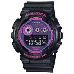 Zegarek Casio Damski  GD-120N-1B4ER G-Shock czarno-różowy. Czarne zegarki damskie CASIO. Za 334,80 zł.