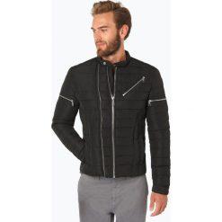 Kurtki męskie bomber: Guess Jeans - Męska kurtka pikowana, czarny