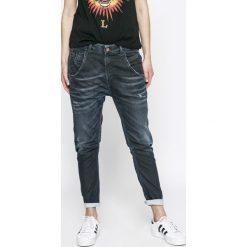 Spodnie z wysokim stanem: Diesel - Jeansy Fayza-Ne