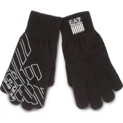 Rękawiczki Męskie EA7 EMPORIO ARMANI - 275805 8A302 00020 M Black. Czarne rękawiczki męskie EA7 Emporio Armani, z materiału. W wyprzedaży za 219,00 zł.