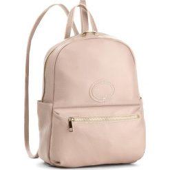 Plecak CREOLE - K10308  Pudrowy Róż. Czerwone plecaki damskie Creole, ze skóry. W wyprzedaży za 219,00 zł.