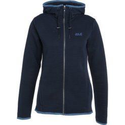 Jack Wolfskin MODESTO HOODED WOMEN Kurtka Outdoor midnight blue. Niebieskie kurtki sportowe damskie marki Jack Wolfskin, xl, z materiału. W wyprzedaży za 356,15 zł.