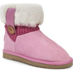 Buty UKALA BY EMU AUSTRALIA - Emma W80044 Pink. Czerwone buty zimowe damskie Ukala by EMU Australia, z materiału. W wyprzedaży za 279,00 zł.