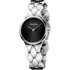 ZEGAREK CALVIN KLEIN CK LADY SNAKE K6E23141. Czarne zegarki damskie marki Calvin Klein, szklane. Za 1189,00 zł.
