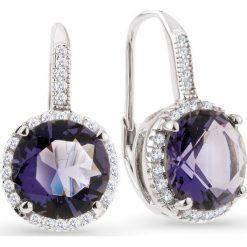 Biżuteria i zegarki: RABAT Srebrne Kolczyki – srebro 925, Cyrkonia