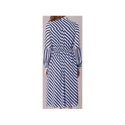 Sukienki: Sukienki długie MICHAEL Michael Kors  BIAS STRIPE MAXI DRS