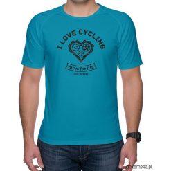 Koszulka sportowa. I love cycling. Zielone koszulki sportowe męskie Pakamera, m. Za 75,00 zł.