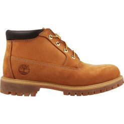 Buty Timberland Premium WP Chukka (23061). Brązowe buty trekkingowe męskie Timberland, z materiału, outdoorowe. Za 499,99 zł.