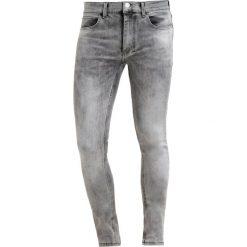 Jeansy męskie regular: Religion HERO Jeans Skinny Fit veins grey