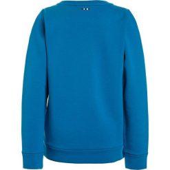 Napapijri BOGLY  Bluza tourquoise. Szare bluzy chłopięce marki Napapijri, l, z materiału, z kapturem. Za 239,00 zł.