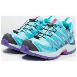 Salomon XA PRO 3D CSWP Obuwie do biegania Szlak blue curacao/eggshell blue/purple opulence. Niebieskie buty sportowe chłopięce Salomon, z gumy. Za 329,00 zł.
