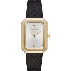 Zegarki męskie: Zegarek KARL LAGERFELD - Linda KL6102 Gold/Gold