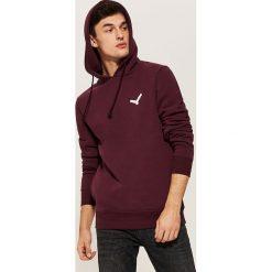 Bluza z haftem - Bordowy. Czerwone bluzy męskie rozpinane marki KALENJI, m, z elastanu, z długim rękawem, długie. Za 89,99 zł.