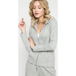 Lauren Ralph Lauren - Bluza pizamowa. Szare piżamy damskie Lauren Ralph Lauren, l, z bawełny. W wyprzedaży za 279,90 zł.
