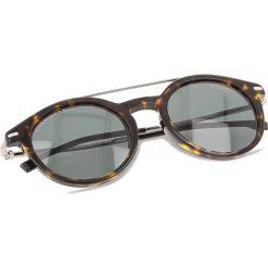 Okulary przeciwsłoneczne BOSS - 0929/S Dark Havana 086. Brązowe okulary przeciwsłoneczne damskie lenonki marki Boss. W wyprzedaży za 529,00 zł.