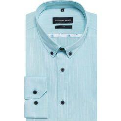 Koszula SIMONE KLNS500031. Czarne koszule męskie na spinki marki TOM TAILOR DENIM, l, z bawełny, button down, z długim rękawem. Za 229,00 zł.