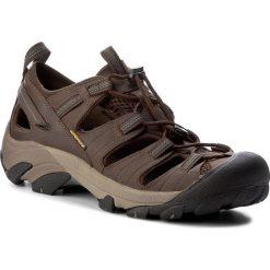 Sandały KEEN - Arroyo II 1002427 Slate Black/Bronze Green. Brązowe sandały męskie skórzane Keen. W wyprzedaży za 319,00 zł.