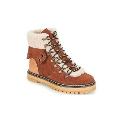 Śniegowce See by Chloé  EILEEN. Brązowe buty zimowe damskie See by Chloé. Za 1739,00 zł.