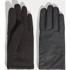 Dzianinowe rękawiczki - Czarny. Czarne rękawiczki damskie Sinsay, z dzianiny. Za 29,99 zł.