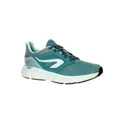 Buty Do Biegania Run Comfort Damskie. Fioletowe buty sportowe damskie marki KALENJI, z gumy, do biegania. W wyprzedaży za 119,99 zł.