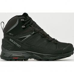 Salomon - Buty X Ultra Mid Winter Cs Wp. Czarne buty trekkingowe męskie Salomon, z materiału, outdoorowe, thinsulate. W wyprzedaży za 549,90 zł.