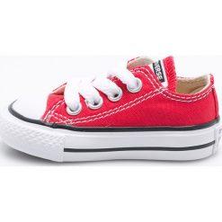 Converse - Tenisówki dziecięce. Szare buty sportowe dziewczęce Converse, z gumy, z okrągłym noskiem, na sznurówki. Za 179,90 zł.