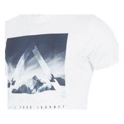 4f Koszulka męska biała r. S (H4Z17-TSM004 0). Białe koszulki sportowe męskie 4f, m. Za 48,51 zł.