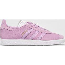 Adidas Originals - Buty Gazelle W. Różowe buty sportowe damskie marki adidas Originals, z materiału. W wyprzedaży za 319,90 zł.