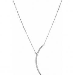 Srebrny naszyjnik - (D)41,5 cm. Żółte naszyjniki damskie marki METROPOLITAN, pozłacane. W wyprzedaży za 79,95 zł.