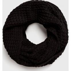 Jack & Jones - Komin. Czarne szaliki męskie marki Jack & Jones, l, z bawełny, z klasycznym kołnierzykiem, z długim rękawem. Za 119,90 zł.