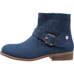 XTI Botki jeans. Niebieskie botki damskie skórzane marki Xti. W wyprzedaży za 188,10 zł.