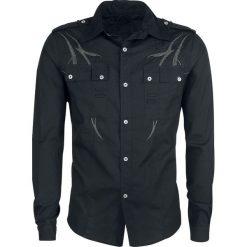 Doomsday Black Tribe Koszula czarny/szary. Czarne koszule męskie na spinki marki Cropp, l. Za 184,90 zł.