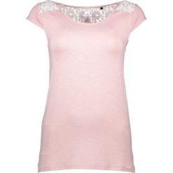 Piżamy damskie: Koszulka piżamowa w kolorze jasnoróżowym