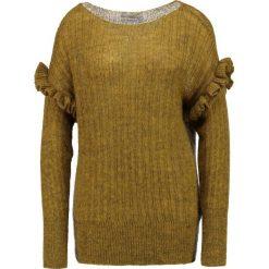 Swetry klasyczne damskie: Aaiko MARCIA MOH Sweter ochre