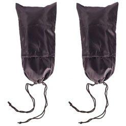 Pokrowiec w kolorze czarnym na buty - (D)38,5 x (S)25 cm. Czarne buty sportowe męskie Crazy sales. W wyprzedaży za 26,95 zł.