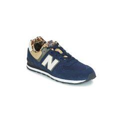 Buty Dziecko New Balance  GC574. Niebieskie trampki chłopięce New Balance. Za 260,10 zł.