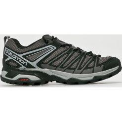 Salomon - Buty X Ultra 3 Prime. Szare buty trekkingowe męskie marki Salomon, z gore-texu, na sznurówki, outdoorowe, gore-tex. W wyprzedaży za 369,90 zł.