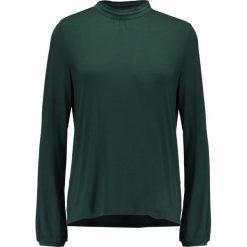 Bluzki asymetryczne: Soaked in Luxury DROP  Bluzka z długim rękawem green gables