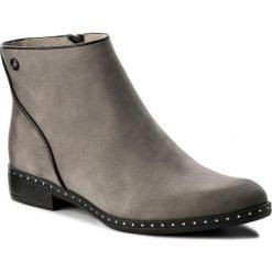 Botki CARINII - B4189 J51-E50-PSK-C63. Różowe buty zimowe damskie marki Carinii, z materiału, z okrągłym noskiem, na obcasie. W wyprzedaży za 219,00 zł.