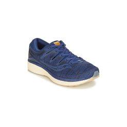 Buty do biegania Saucony  TRIUMPH ISO 5. Niebieskie buty do biegania męskie Saucony. Za 749,00 zł.
