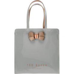 Ted Baker VALLCON BOW DETAIL LARGE ICON BAG Torba na zakupy midgrey. Szare torebki klasyczne damskie Ted Baker. Za 219,00 zł.
