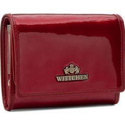 Mały Portfel Damski WITTCHEN - 25-1-070-3 Czerwony. Czerwone portfele damskie marki Wittchen, z lakierowanej skóry. Za 349,00 zł.