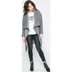 Answear - Top TWILIGHT. Szare topy sportowe damskie marki ANSWEAR, l, z nadrukiem, z bawełny, z okrągłym kołnierzem. W wyprzedaży za 47,90 zł.