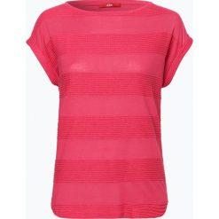 T-shirty damskie: s.Oliver Casual – T-shirt damski, różowy